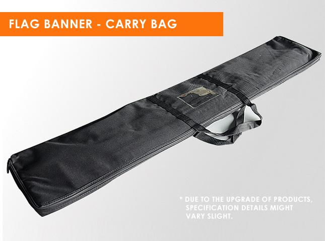 Flag Banner Carry Bag Details