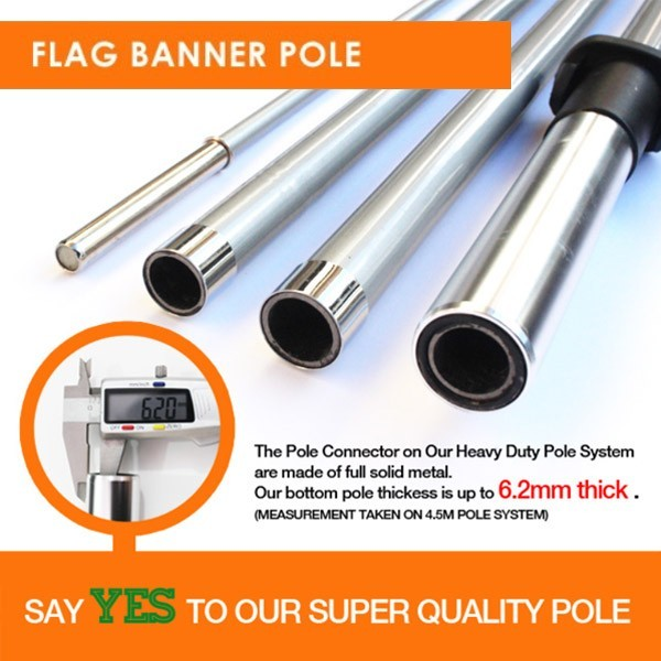 Feather  Banner Flag Pole