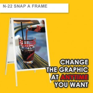 SNAP A FRAME (Frame Size 1.2m Height, Artwork Size 605MM X 855MM)