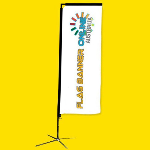 7.5ft (2.2M) RECTANGULAR BANNER (RECTANGULAR FLAG BANNER)