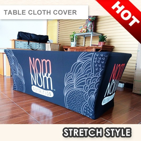 STRETCH STYLE TABLE COVER   TABLE THROW   TABLE CLOTH