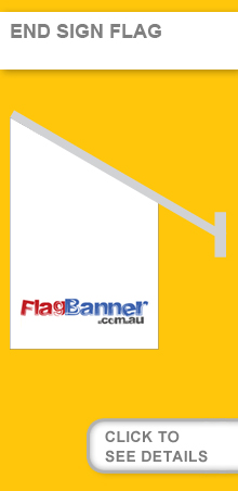End Sign Flags, Shop Front Flags USA
