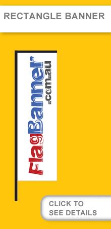 Rectangle Banner USA